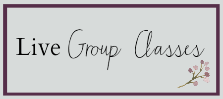 Live Group Classes for Work With Me Page