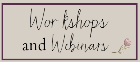 Workshops and Webinars for Work With Me Page